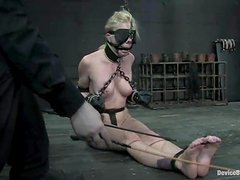 Charlotte Vale and Samantha Sin have lesbian fun in a basement