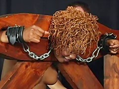Ebony and fat baroness is happy to have sex fun