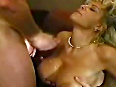 Wondrous angel with long hair is jumping on big dick