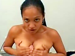 Young and asian babe with fresh crotch likes doggy style