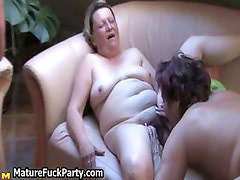 Three thick old ladies love getting part3