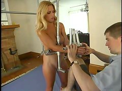 Gorgeous and smoking hot Goldie is under some wild perversions