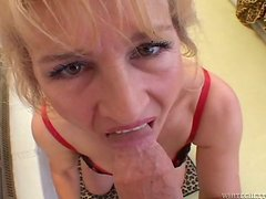 Anal is on the Menu for This MILF Who Sucks and Fucks for Rent Money