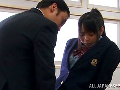 Gangbang Time at School for Asian Chick Ruka Kanae