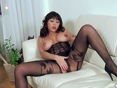 Curvy Brunette Shanis Licked And Fucked By Hard Cock Stud