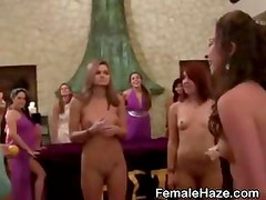 College Amateur Girls Eating Pussy Together At Hazing