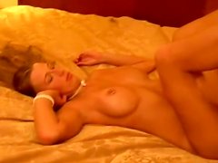 Amateur couple made a short home video