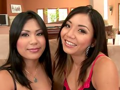 Two hot Asian Broads In Hardcore Interracial Fucking