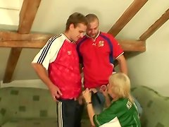 Grandma has to have got laid by pair dudes