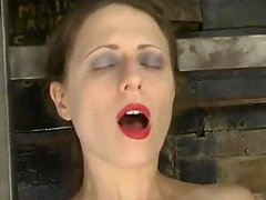 Slim Lena Ramon gets bounded and toyed by Audrey Leigh