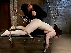Dominated Whore Gets A Huge Toy...