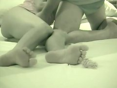 A very amateur sex tape has been uploaded