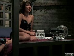 Horny Asian Max Mikita Fucked by Machines and Sybian