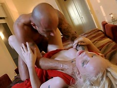 Devilish porn slut Petrova is brutally throat fucked and butt fucked in hardcore anal sex video