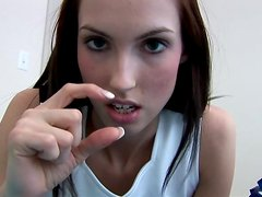 Today Sophie is a kinky cheerleader talking about her dreams