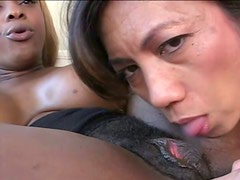 Two smoking hot milfs are pleasing each other