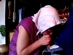 Fat Granny With Shaved Pussy Pounded Hard At Night Bar