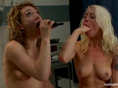 Kinky Lezzies Lily Labeau and Lorelei Lee Share Toys and Machines
