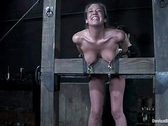 Jade Marxxx gets tortured to orgasm in amazing BDSM clip