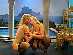 Hardcore blondes are swallowing really big loads