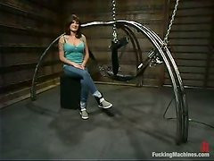 Kinky Bondage Video with Stacey Stax Fucked by Machines