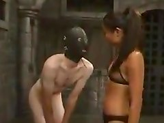 Lucy Lee the Asian mistress tortures and toys Jack