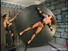 Kym Wilde and Rebecca Lord enjoy playing dirty BDSM games