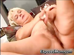 Nasty mom feeling sexy playing part5