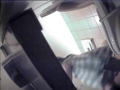 Voyeur video with girl in a toilet