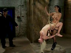 Isis Love Having Fun Toying and Strapon Fucking Blonde Lorelei Lee