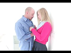 Incredible sex with the gorgeous blonde teen Roxy Lovette