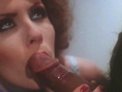 Hot vintage facial for a sexy brunette