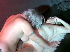 Dirty-minded mature women take part in hot threesome