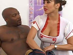 Stunning Ava is fucking with black dick
