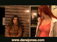 Redhead Babe Is Horny While She Licks Her Lesbians Friends Cunt