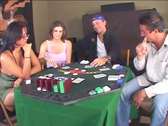 MILF Eva Angelina Loses On Poker And Have To Blow Big Dick