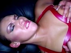 Her tight and fresh pussy fucked by her friend in the club
