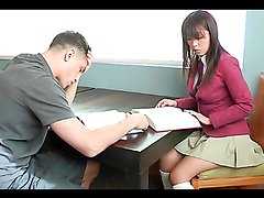 Asian teen Marica Hase is fingered and fucked by a guy