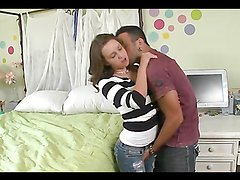 Ariel Lee is fucked silly by a horny guy
