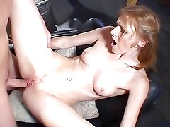 Amazing Young Redhead Anal