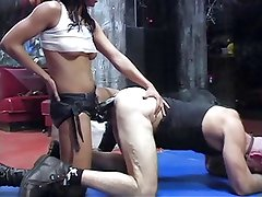 Domina With Strapon Fuck Hard