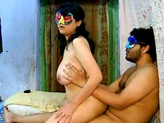 Amateur chick Savita is getting fucked in the bed