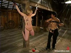 Severe act of lesbian sadism with Dagon Lily and Jolene