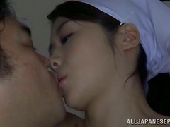 Hot Asian blowjob action going on for this POV video