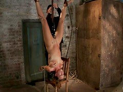 Sucking a cock in upside down suspension is like 69
