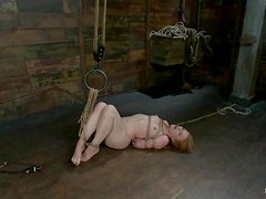Madison Young gets hung up and hurt in a basement and enjoys it