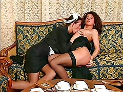 Funky sex between maid and her boss