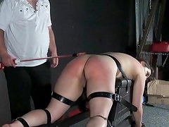 Cattleprod electro masochism and big having sex Dabbler slavery of tortured slaveslut in explicit dungeon fetish footage featuring Janna