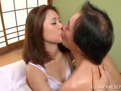 Hot Japanese Babe In Pantyhose Gets Fucked Hardcore