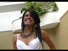 Great sex with the cock thirsty tranny Lohara Lomark